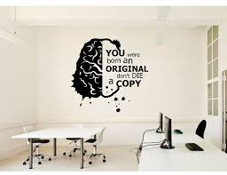 Wall Stickers Think More School Science Classroom Vinyl Decals Office Home Study Inspirational Slogan Decoration Wallpaper Bg23 Wall Stickers Aliexpress