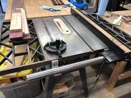 New To Woodworking And Got This Table Saw Off Craigslist Is It Possible To Install A Splitter Or Riving Knife Trying To Make It As Safe As Possible Woodworking