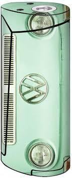 Amazon Com Skin Decal Vinyl Wrap For Smok Priv V8 60w Vape Stickers Skins Cover Baby Blue Vw Bus