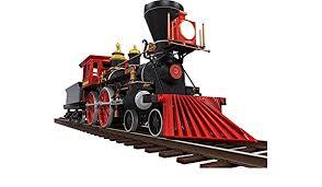 Amazon Com 12 Cartoon Steam Locomotive Train 1 On Railroad Tracks Wall Decal Kids Sticker Graphic Art Decor Small Home Kitchen