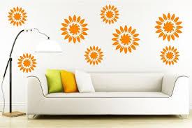 Flower Wall Decals Living Room Decorgirls Bedroom Etsy