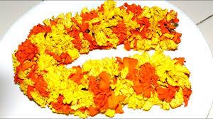 Image result for marigold garland