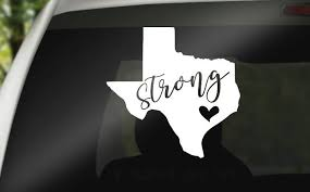 Excited To Share The Latest Addition To My Etsy Shop Houston Decal Houston Strong Houston Car Decal Hurricane Cricut Creations Texas Strong Car Decals