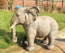 jumbo safari elephant garden statue