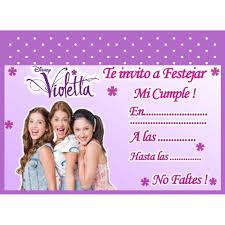 Fiesta De Violetta Buscar Con Google Fiesta Disney