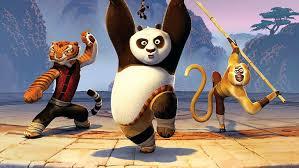 hd wallpaper kung fu tigress panda