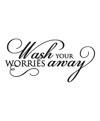 Simply Said Vinyl Wash Your Worries Away Decal Best Price And Reviews Zulily