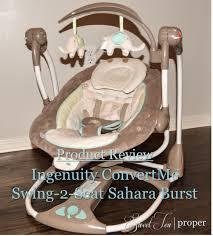 ingenuity swing 2 seat sweet tea proper