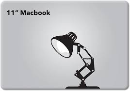 Amazon Com Pixar Lamp Disney Apple Macbook Decal Vinyl Sticker Apple Mac Air Pro Retina Laptop Sticker Computers Accessories