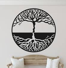 Ebern Designs Tree Of Life Vinyl Wall Decal Wayfair