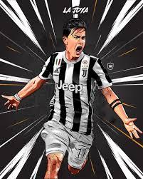 Paulo Dybala Football Jucentus Dybala Dibujos De Futbol