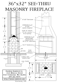 multi sided fireplace plans instructions
