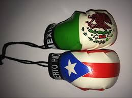 Puerto Rico Mexico Mini Boxing Gloves Buy Online In Maldives At Desertcart