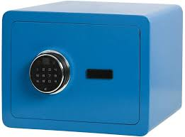 Amazon.com: Lovndi Security Digital Safe Box, Biometric Safe Fingerprint Safes for Home Office, 13.8 x 9.8 x 9.8 inches, Blue: Office Products