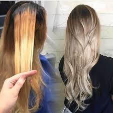 get rid of bry tones in blonde hair