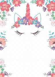 Invitacion Para Cumpleanos De Unicornio Editable Y Gratis Mama Inventiva