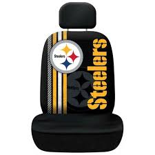 Pittsburgh Steelers Rally Design Seat Cover