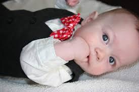 baby boy baby bowtie cute child