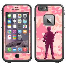 Skin Decal For Lifeproof Apple Iphone 6 Case Pink Camouflage Soldier Decal Not A Case Walmart Com Walmart Com