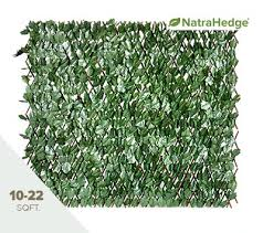 Faux Leaf Expandable Privacy Fences Trellis From Natrahedge