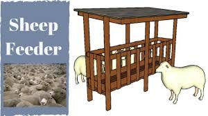 Sheep Feeder Plans Youtube