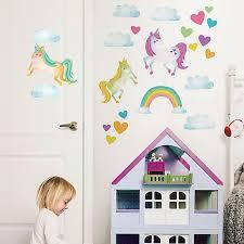 Wallpops One Love Unicorns Vinyl Wall Art Decal Kit Bed Bath Beyond