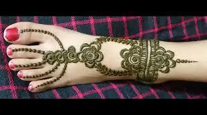mehndi designs for children s leg