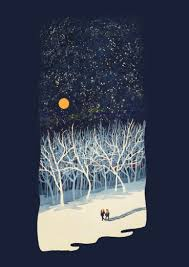 If On A Winter's Night Young Lovers... eCard by Paul Sheaffer (Threadless)    Open Me