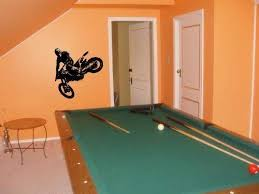 Amazon Com Vinyl Decal Mural Sticker Motocross Ktm Dirt Bike 004 Home Kitchen