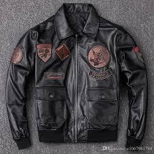 air force pilot leather jacket