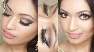 eid makeup tutorial 2016 gold glitter