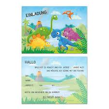 Children S Birthday Dinosaur Boys Birthday Party Invitations