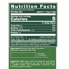 healthforce superfoods chlorella manna