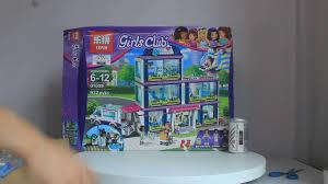 Mở hộp Lepin 01039 Lego Friends 41318 Heartlake Hospital giá sốc ...