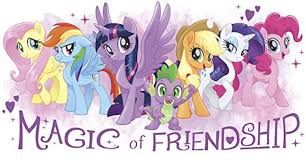 New My Little Pony The Movie 17 Magic Of Friendship Wall Decal Sticker Available On Amazon Com My Little Pony Movie Toys
