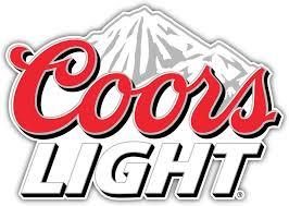 Amazon Com Qualityprint Coors Light Logo Mountain Decor Bumper Vinyl Sticker 14 X 10 Home Kitchen