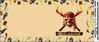 Imprimibles De Piratas Del Caribe 4 Ideas Y Material Gratis