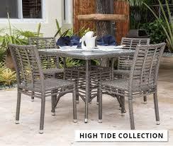 luxury garden furniture patio set ideas