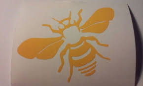 Bee Decal Bee Farm Decal Yeti Cup Decals Mailbox Decal Save The Bees Bee Decals Decals For Yeti Cups Window Decals