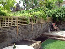 Softwood Trellis In 2020 Trellis Panels Brick Wall Gardens Fence Design