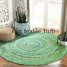 rugs boho decor hand woven chindi