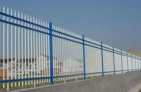 Square Pipe Gate Design Galvanized Steel Round Tube Pipe Fence