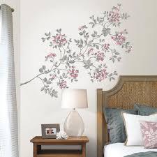Cherry Blossom Wall Decal Suitable Combine With White Cherry Blossom Tree Wall Decal Suitable Combine With Best Cherry Blossom Wall Decal Cherry Blossom Wall Decal For Beautiful Wall Decoration Shopverucasalt Com