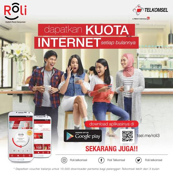 aplikasi RoLi Telkomsel