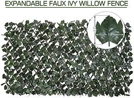 Expandable Faux Ivy Privacy Fence Canada