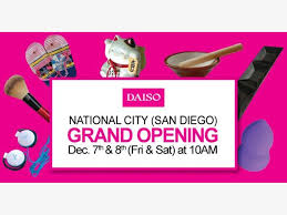 daiso national city grand opening
