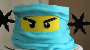 Lego Ninjago Cake Tutorial! - YouTube