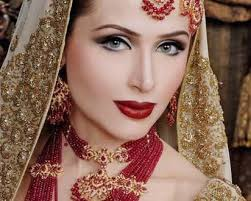 ather shahzad bridal makeup for barat