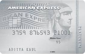 platinum travel credit card american
