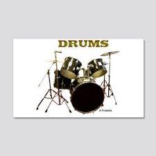 Drum Wall Decals Cafepress